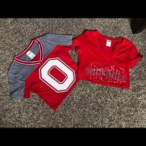 PINK OSU t-shirts
